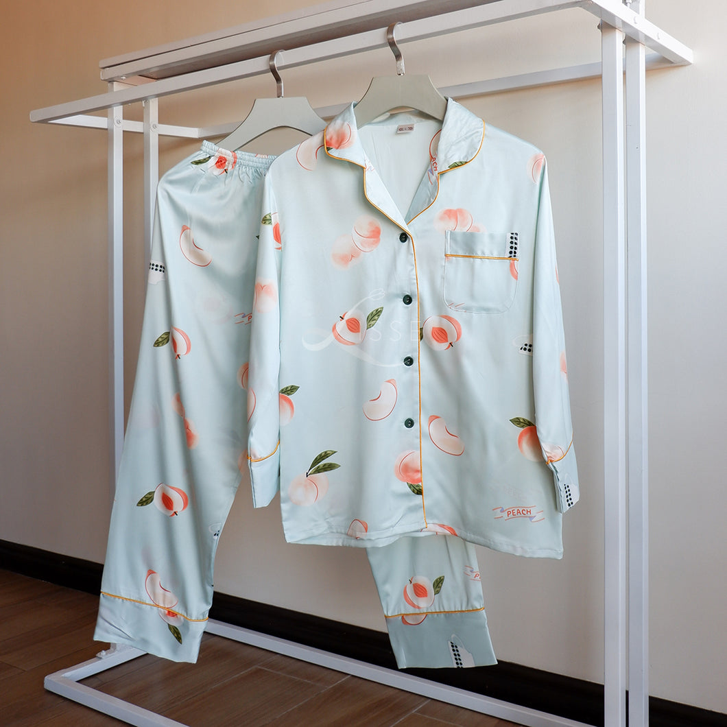 Peach Please Pajama Set
