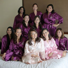 Orchid Violet Bridesmaids Robe