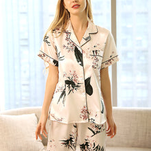 Pink Orchid Short Sleeves Pajama Set