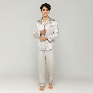 Bamboo Long Sleeves Pajama Set (His)