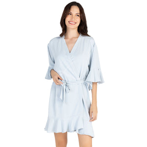 Classic Ruffle Robe (4 Colors)