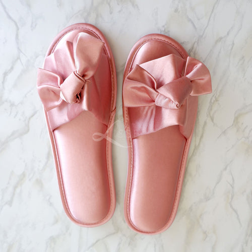 Satin Lounge Slippers