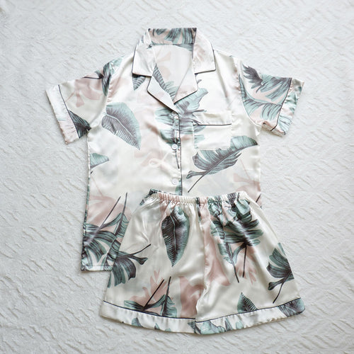 Tropical Vibes Short Pajama Set