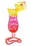 Let the Good Times Roll Greeting Card 6-Pack Inspired By Music