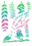The Littlest Birds Greeting Card 6-Pack Inspired By Music