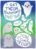 I Get Those Goosebumps Greeting Card 6-Pack Inspired By Music