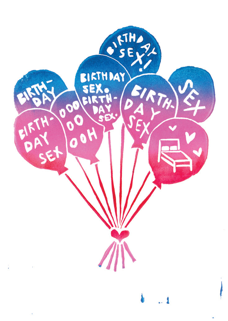 Birthday Sex Greeting Card 6-Pack Inspired By Music