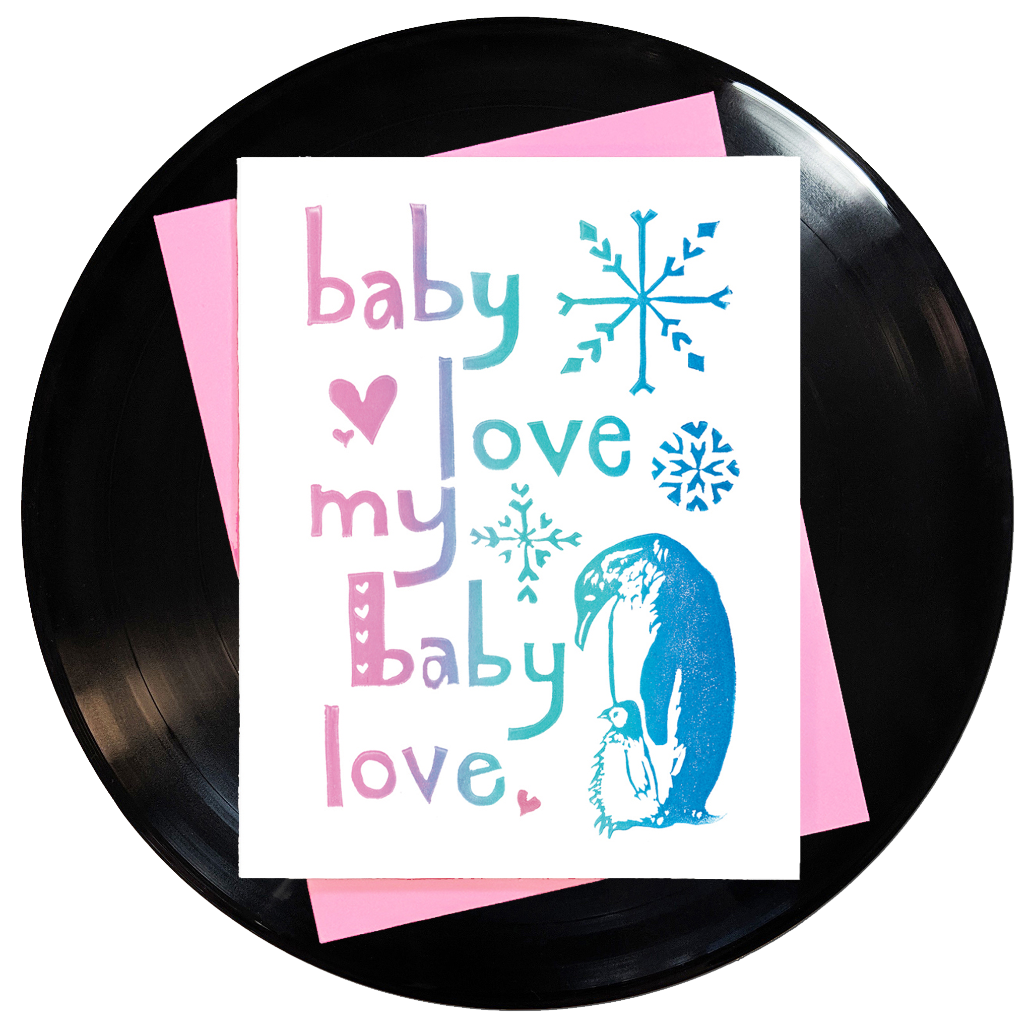 Baby Love My Baby Love Greeting Card