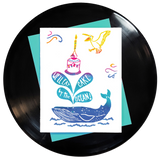 We'll Eat Cake By the Ocean Greeting Card