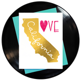 California Love Greeting Card Inspired By Music