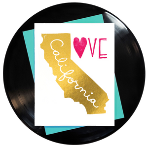 California Love Greeting Card