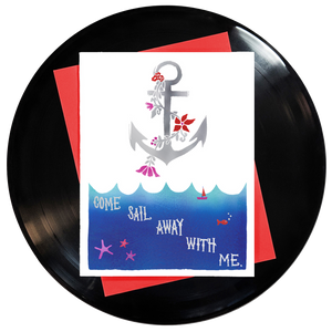 Come Sail Away With Me Greeting Card
