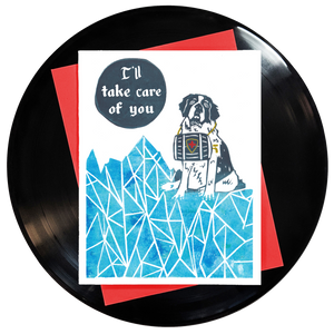 I'll Take Care Of You Greeting Card - Wholesale
