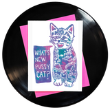 What's New Pussycat? Greeting Card