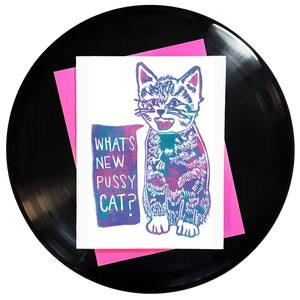 What's New Pussycat? Greeting Card - Wholesale