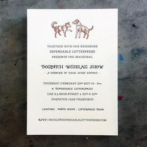 Custom Design for Letterpress