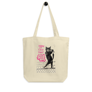 Shake It Like That Alley Cat Eco Tote Bag