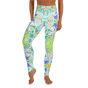 Garden for the Enlightenment Yoga Leggings