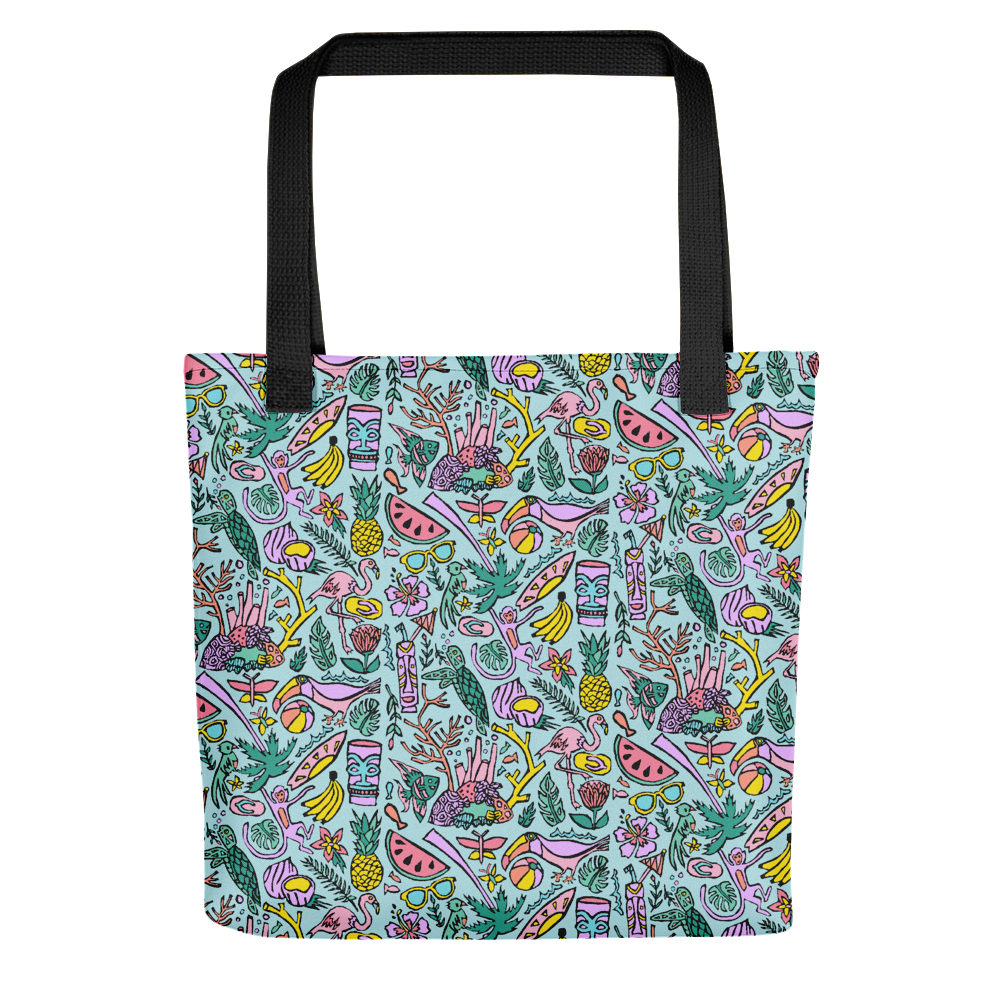Tropical Fantasies Tote Bag