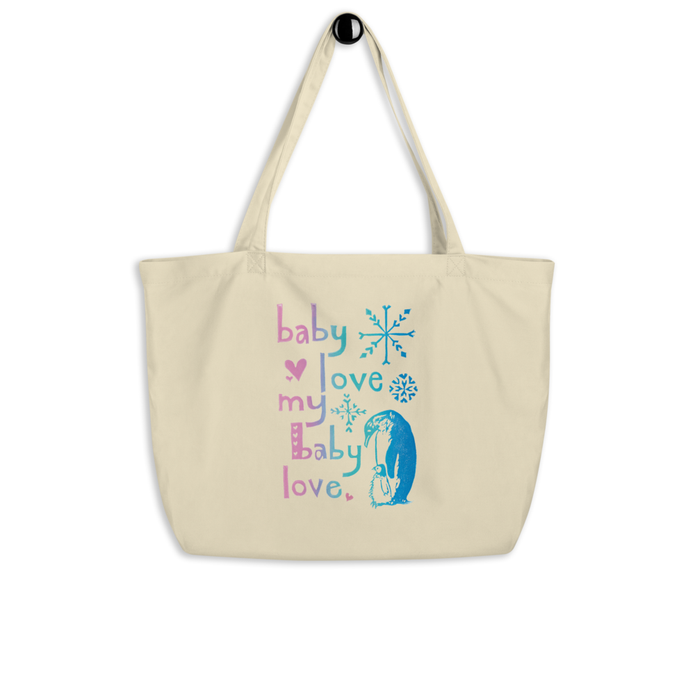 Baby Love My Baby Love Large Eco Tote Bag