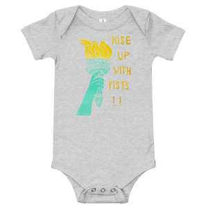 Rise Up With Fists!! Onesie