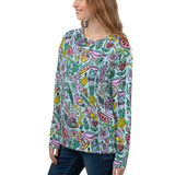 Tropical Fantasies Pattern Sweatshirt