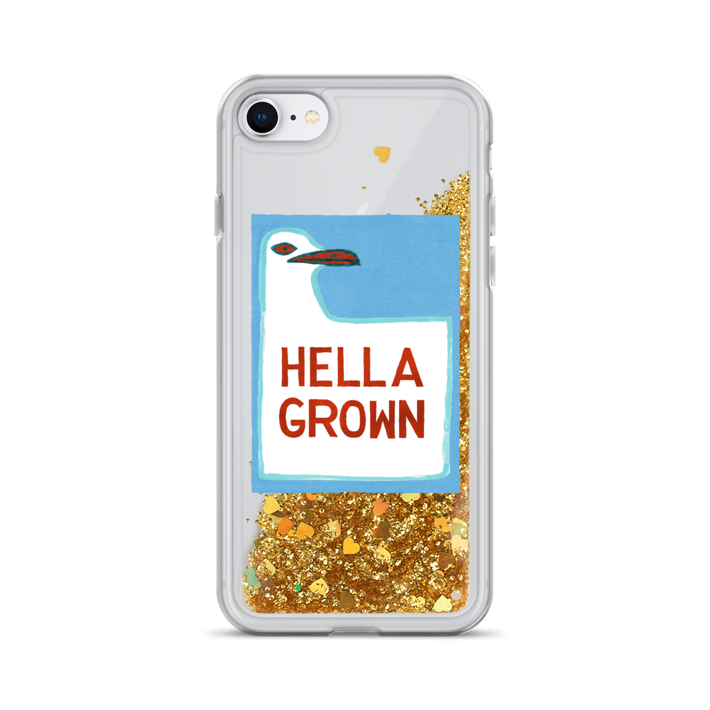 Hella Grown Liquid Glitter Phone Case