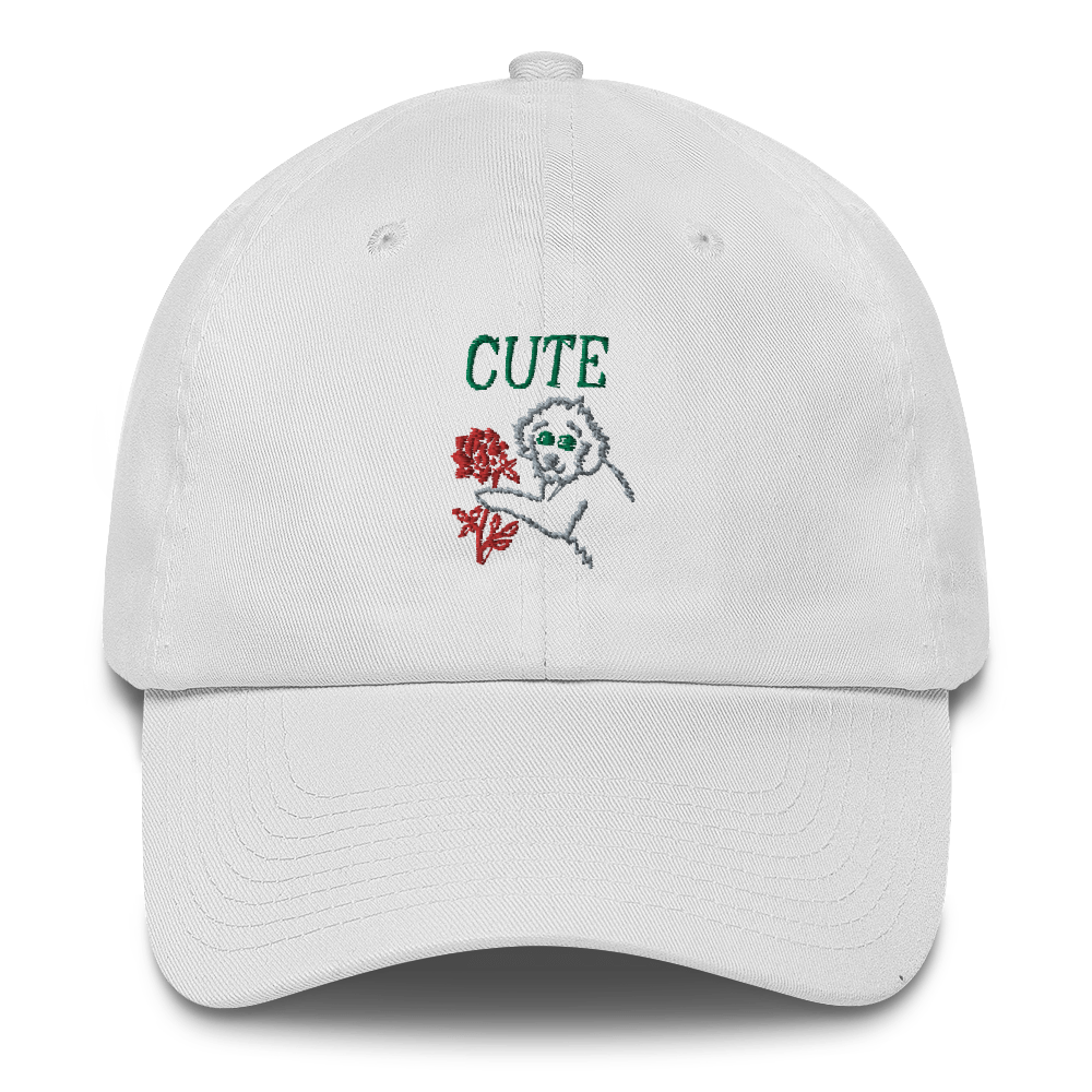 I Think You're Cute Cotton Cap