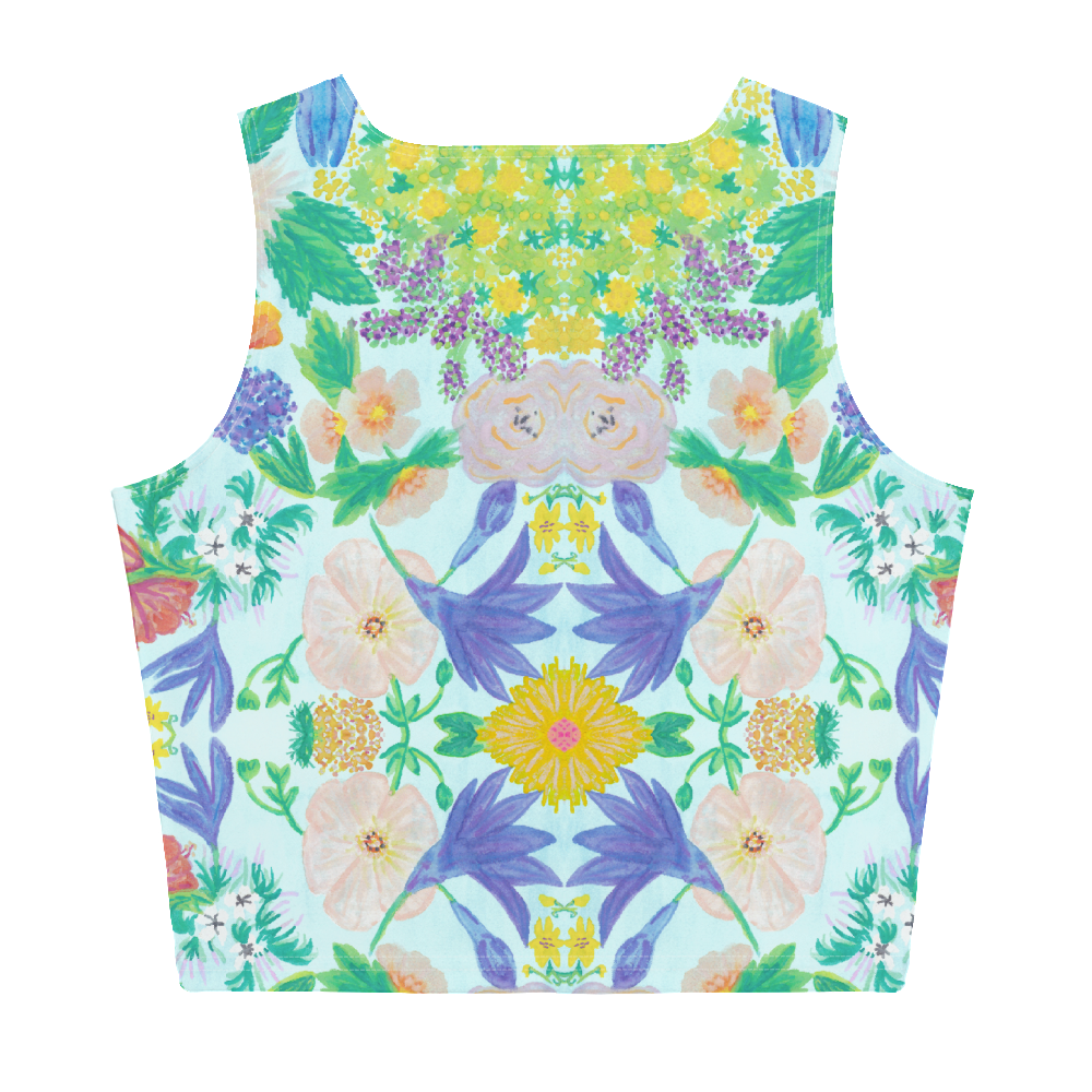 Garden for the Enlightenment Crop Top