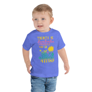 There'll Be Love Love Love Toddler Short Sleeve Tee