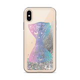 Astral Bow Tie Liquid Glitter Phone Case