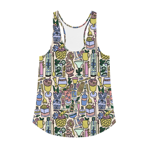 Cocktail Hour Racerback Tank