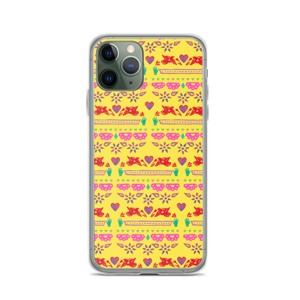 Handmade Love Papel Picado iPhone Case