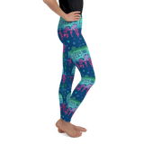 Rascal Raccoon & Airstream Dreams Youth Leggings