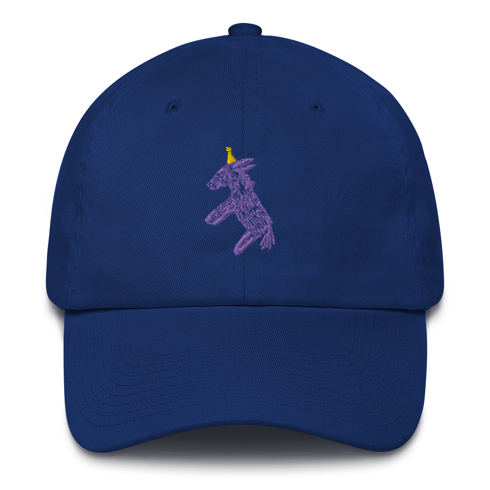 Happy Happy Joy Joy Donkey Pinata Cotton Cap