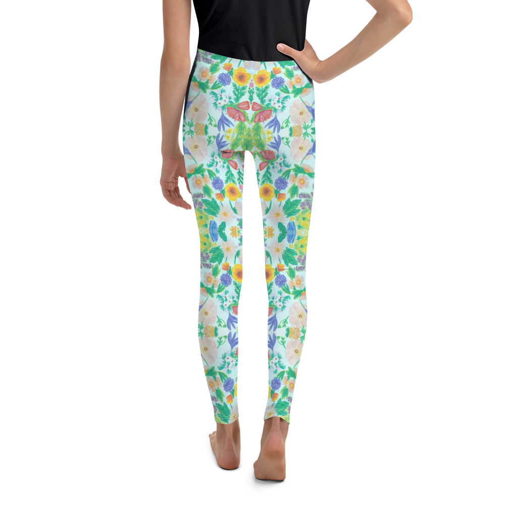 Garden for the Enlightenment Youth Leggings