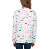Nature Song Pattern Sweatshirt