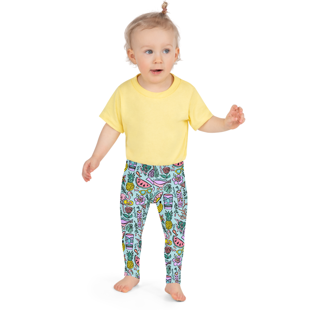 Tropical Fantasies Kids Leggings