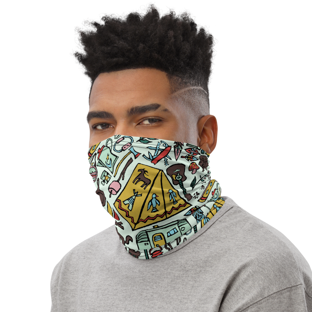 Whimsical Wilderness Neck Gaiter