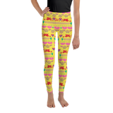 Handmade Love Papel Picado Youth Leggings