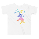 Happy Happy Joy Joy Toddler Short Sleeve Tee