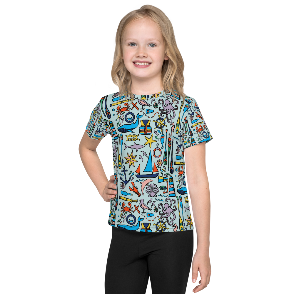 Nautical Drifts Kids T-Shirt