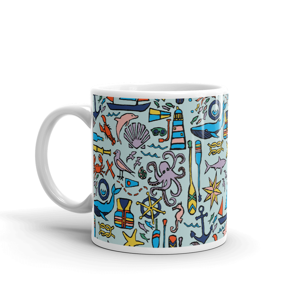 Nautical Drifts Mug