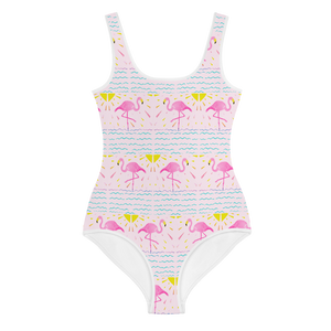 Flamingo Rays Youth Swimsuit