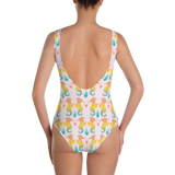 Royal Seahorse One-Piece Swimsuit