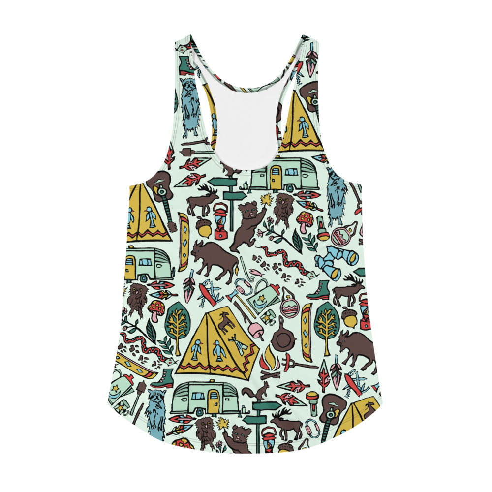 Whimsical Wilderness Racerback Tank