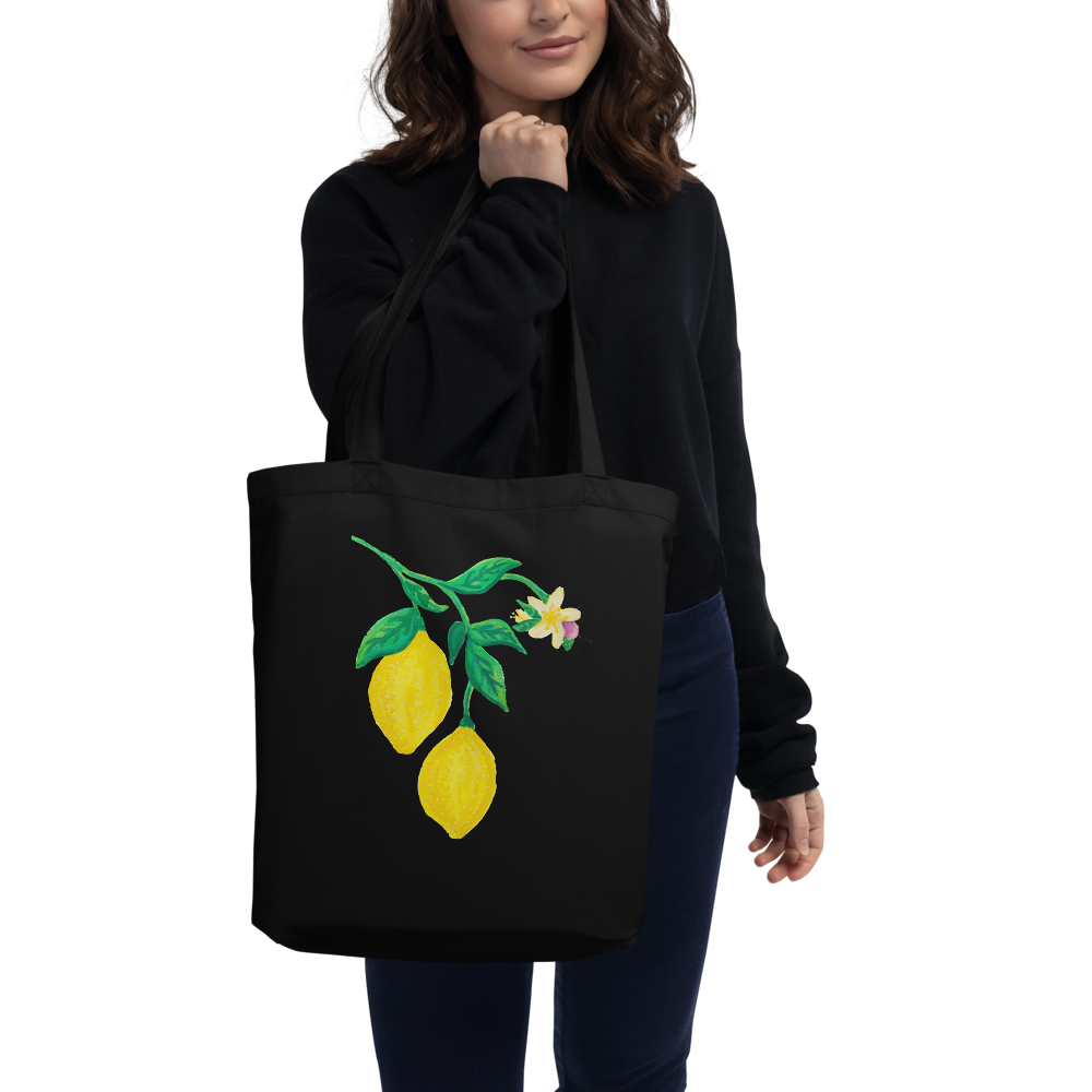 Citrus Blossom Branch Eco Tote Bag