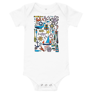 Nautical Drifts Onesie