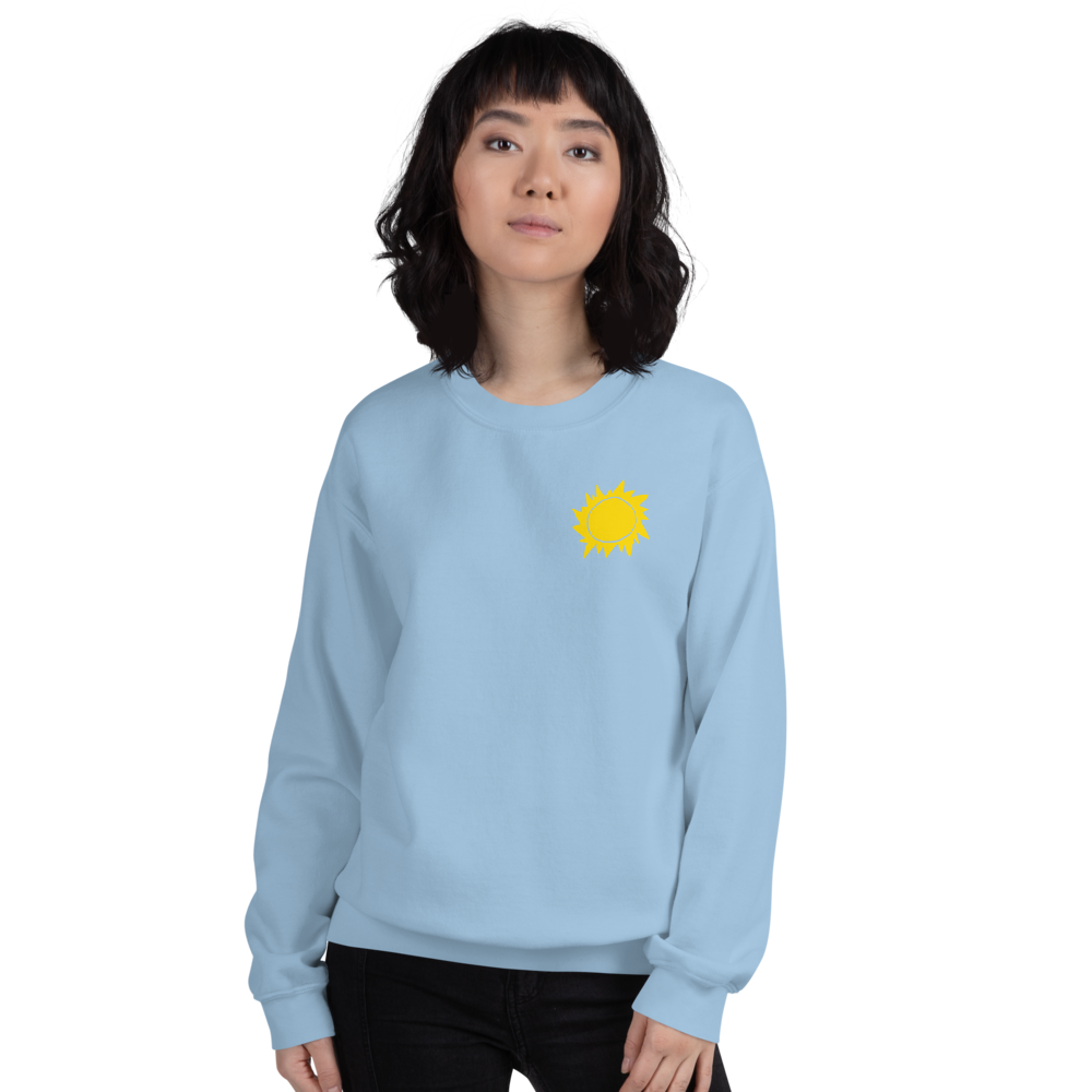 Retro Sun Adult Sweatshirt