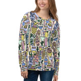 Cocktail Hour Pattern Sweatshirt